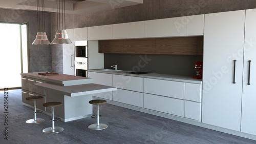 Cucina mobili, design di interni, arredamento della cucina ...