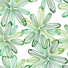 multi_green_flowers_pattern_seemless_tan_petals