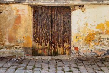 Olde wooder door