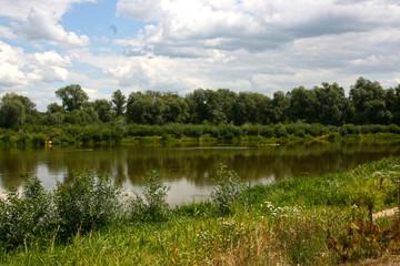 Bug river in Poland