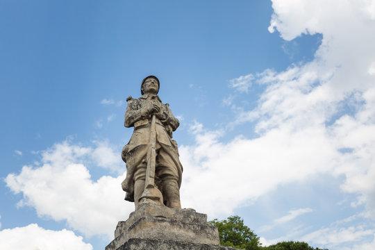 Memorial for WWI in Gordes