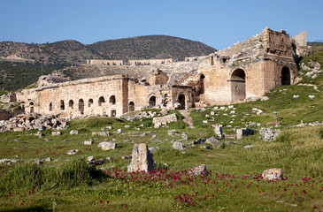 Antikes Theater in Hierapolis