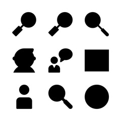 seo icons set. ui, hand, finance and networking graphic works