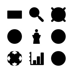 business icons set. website, cable, pocket and progress graphic works