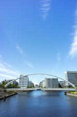 運河のある風景