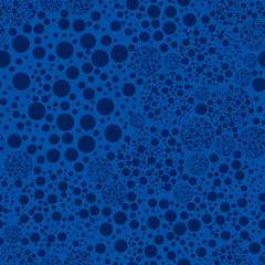Polkadots background. Seamless pattern.Vector. ドットパターン