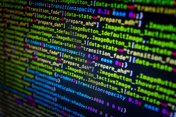 Desktop source code and Wallpaper by Computer language with coding and programming.