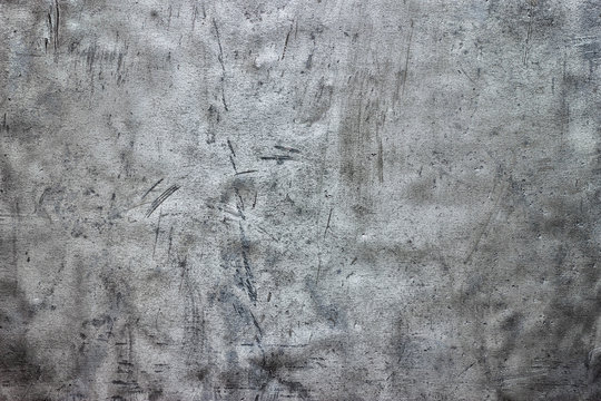 Dirty steel sheet texture, metallic background with damage