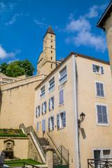 Wall Mural - Tour d'armagnac vue de l'escalier monumental à Auch dans le Gers;