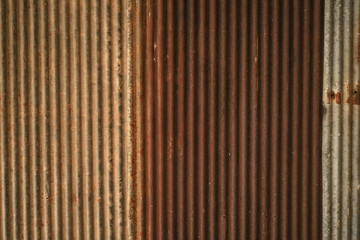 Old rusty zinc plat wall texture background