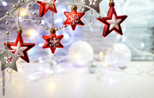 Diy christmas lights paper garland damask love