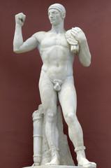 The stone gladiator