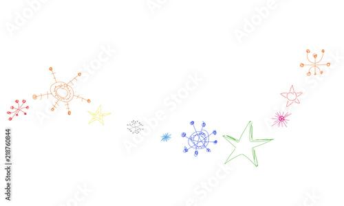 Sterne Stars Band Banner Stern Schnee Weihnachten Winter