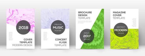 Abstract cover. Resplendent design template. Suminagashi marble modern poster. Resplendent trendy ab
