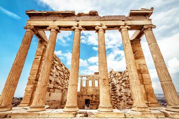 Fototapete - Erechtheion temple on Acropolis, Athens, Greece