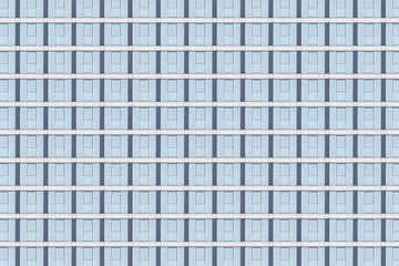 blue window facade pattern for backgrounds