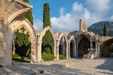 Poster Monument Bellapais abbey, Kerynia Cyprus