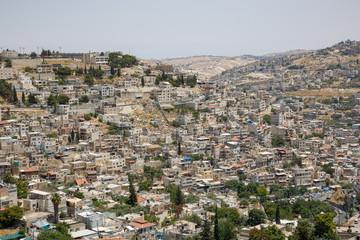 Residential neighborhoods in East Jerusalem