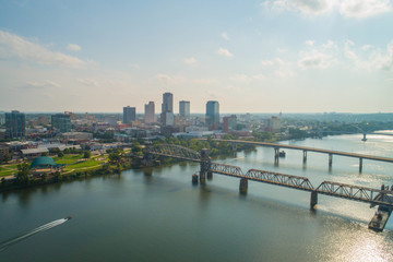 Wall Mural - Aerial photo Little Rock Arkansas