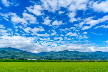 信州安曇野 田園風景