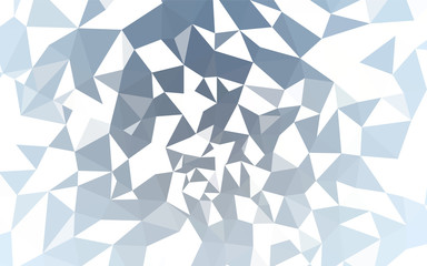 Light BLUE vector polygonal pattern.