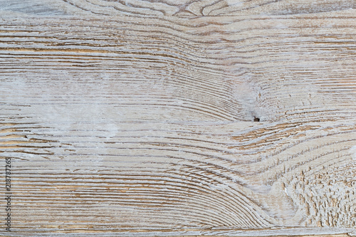 Shabby White Rustic Painted Wood Texture Close Up As Background