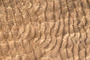 Sand background texture under water