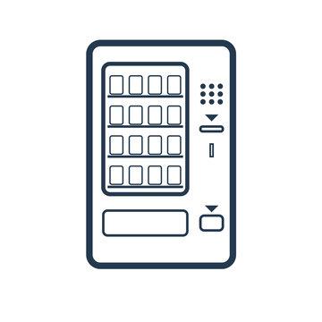 Vending Machine simple icon
