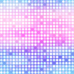Purple points, seamless pattern