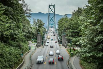 Lions Gate Bridge, Vancouver Fotomurales