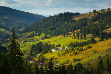 Karpaty is picturesque place