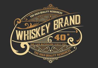 Vinatage design for Logo, Label or packing
