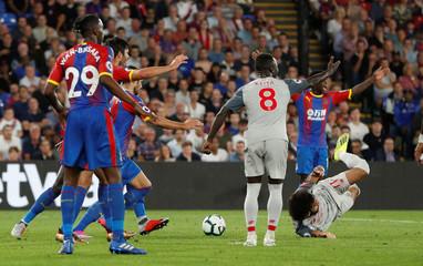 Premier League - Crystal Palace v Liverpool
