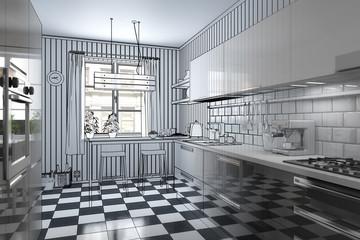 Meine neue Küche (Bauplan)