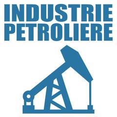 Logo industrie pétrolière.