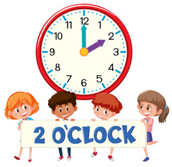 2 o'clock and students