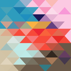 Abstract colorful background with different polygons