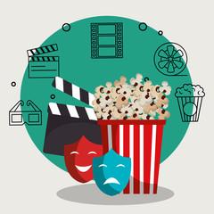 pop corn cinema enterainment
