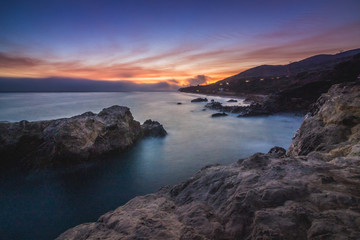 Leo Carrillo State Beach After Sunset