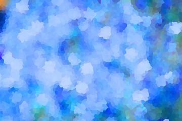 abstract vintage colorful bokeh