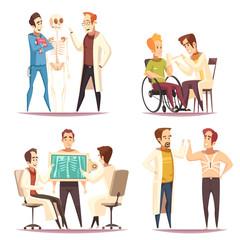 Orthopedist Concept 4 Cartoon Images