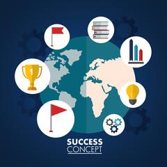 success concept card