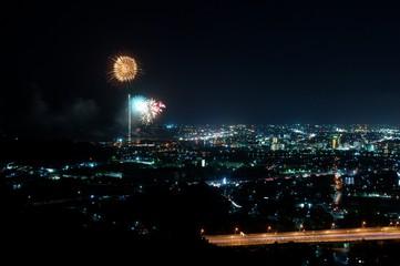 打ち上げ花火と故郷〜Fireworks & Hometown