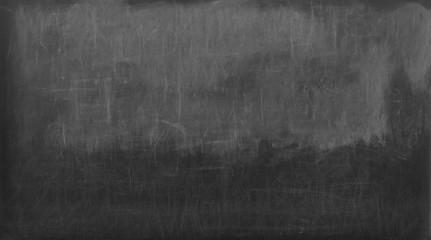 Empty black chalkboard.