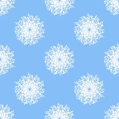 Snow color pattern