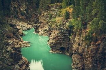 Wall Mural - Scenic Norwegian Canyon