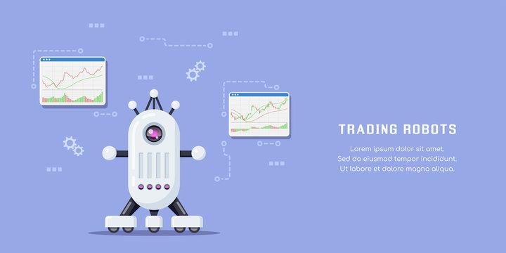 Stock market trading robot