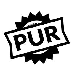 pure black stamp