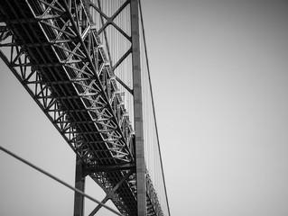 25 de Abril Bridge, Lisboa, Portugal