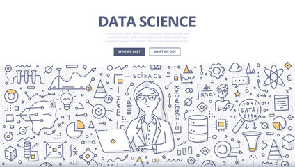 Data Science Doodle Concept